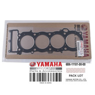 YAMAHA OEM Cylinder Head Gasket 6B6-11181-00-00 2004-2010 FX PWC & Jet Boats