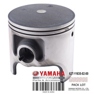 YAMAHA OEM Piston (0.25 mm O/S) 62T-11635-02-00 1995-2004 Raider Venture Runner XL PWCs