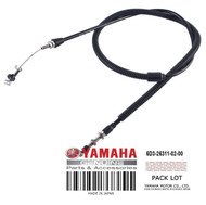 YAMAHA OEM Throttle Cable 1 6D3-26311-02-00 2005-2009 VX Cruiser Deluxe & Sport