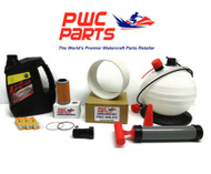 SeaDoo BRP Oil Change Kit RXP-X RXT-X 4-TEC Filter Wear Ring Pump WR012 Tool OEM