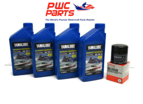 YAMAHA Oil Change Kit w/ OEM Filter FX-SHO SVHO FZR FZS GP1800 69J-13440-03-00