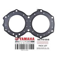YAMAHA OEM Cylinder Head Gasket 64X-11181-00-00 1996-2000 Blaster Raider Runner Venture GP