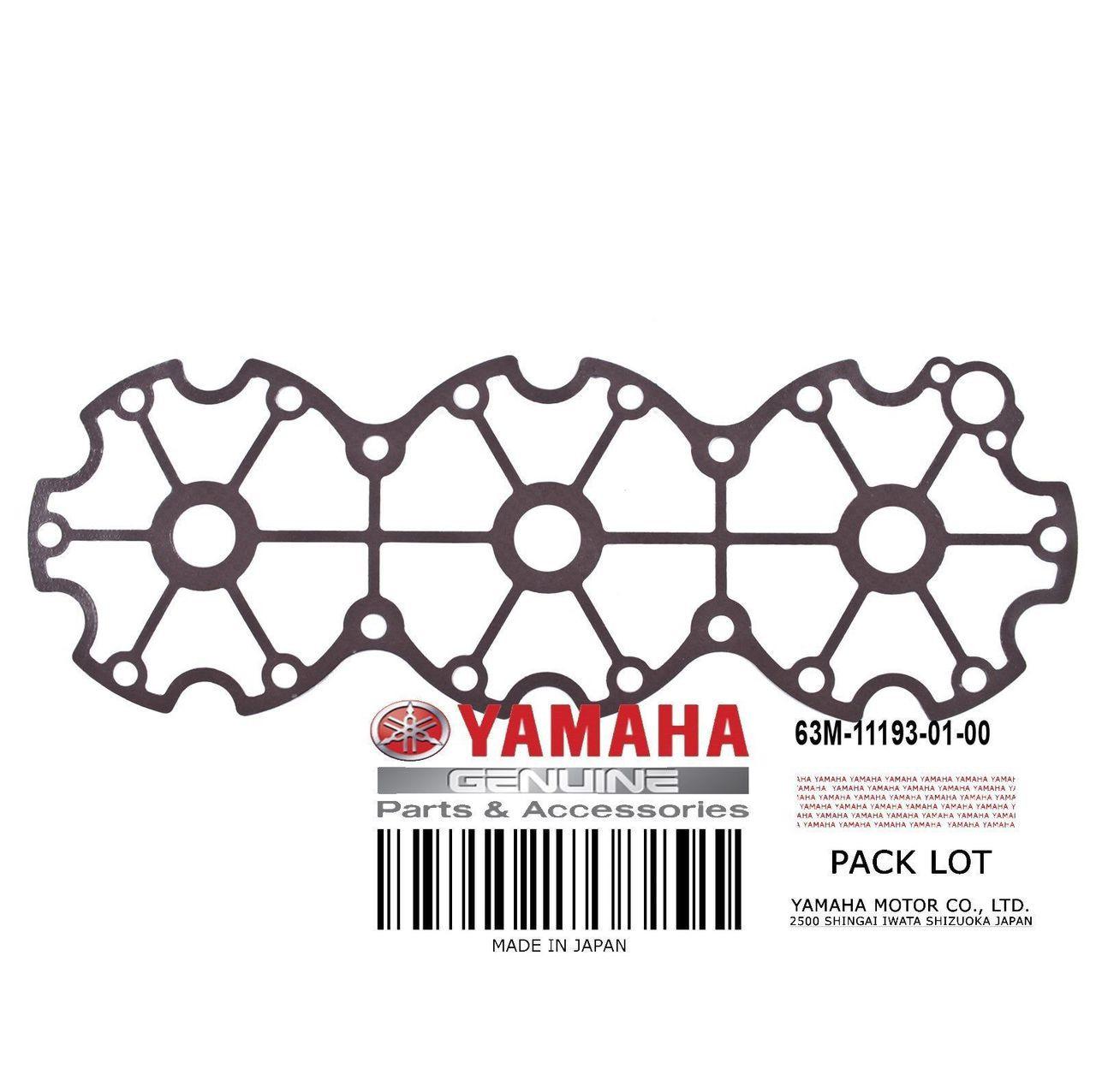 YAMAHA OEM Head Cover Gasket 63M-11193-01-00 1995-2005 GP
