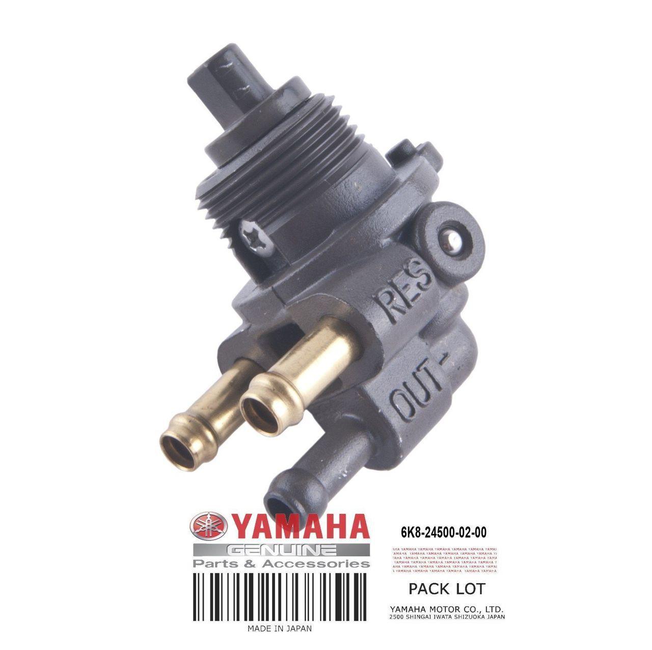 YAMAHA OEM Fuel Cock Assembly 6K8-24500-02-00 1987-2017 FX VX Jammer Raider  Runner SJ