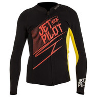Matrix Wetsuit Jacket Red/Yellow