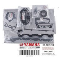 YAMAHA OEM Engine Gasket Kit 6CR-W0001-01-00 2013-2015 FX VX PWCs & Jet Boats