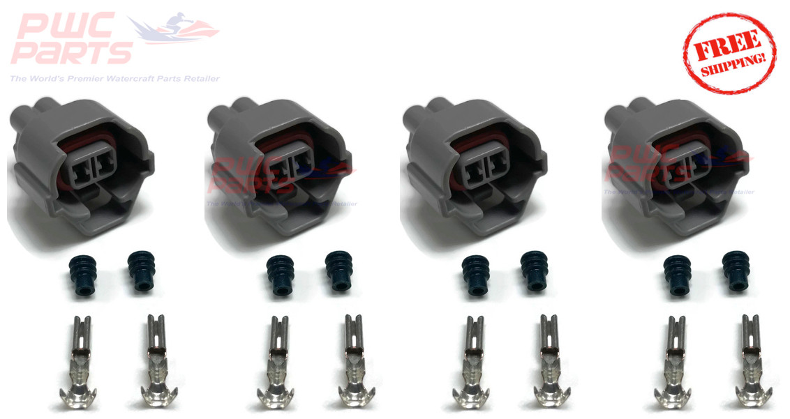 YAMAHA FX-SHO SVHO GP1800 FZR FZS 1 8L Injector Connector Plug Upgrade Kit
