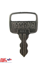 YAMAHA OEM #827 Ignition Key 90890-56017-00
