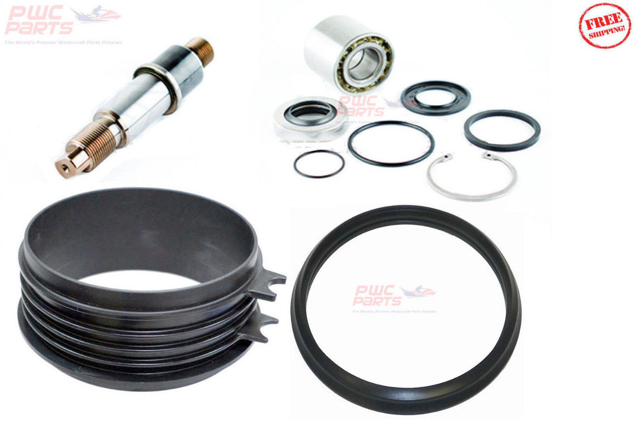 SeaDoo SPARK Jet Pump Rebuild Kit Impeller Shaft Wear Ring w/ Seal 267000617