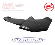 SeaDoo 2018 RXT-X 300 RIVA Racing Seat Cover Black Grey Stitch RS5-120-2