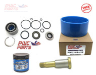 SeaDoo Jet Pump Rebuild Refresh Kit Wear Ring Grease Impeller Shaft 2005 GTX 155