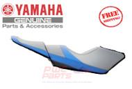 YAMAHA OEM Seat Cover 2014 FX-SVHO Blue F2S-U371B-50-00 + F2S-U372B-50-00