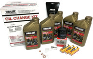 PWC Parts Co YAMAHA YXZ1000R / SS/EPS SxS Full-Synthetic Maintenance Kit Oil Change Performance NGK Spark Plug Set Gaskets 2016 2017 2018 2019 15W50 LUB-SXSCG-KT-15