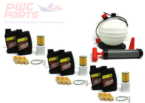 SeaDoo SPARK TRIPLE Oil Change Kit w/ SBT-OILEX-TR-CT 80-340 PUMP