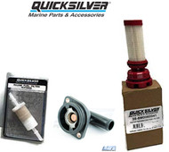 QUICKSILVER VERADO TUNE UP KIT- FUEL FILTER, WATER SEPARATOR, THERMOSTAT 775-60 L6 200 225 250 275 300