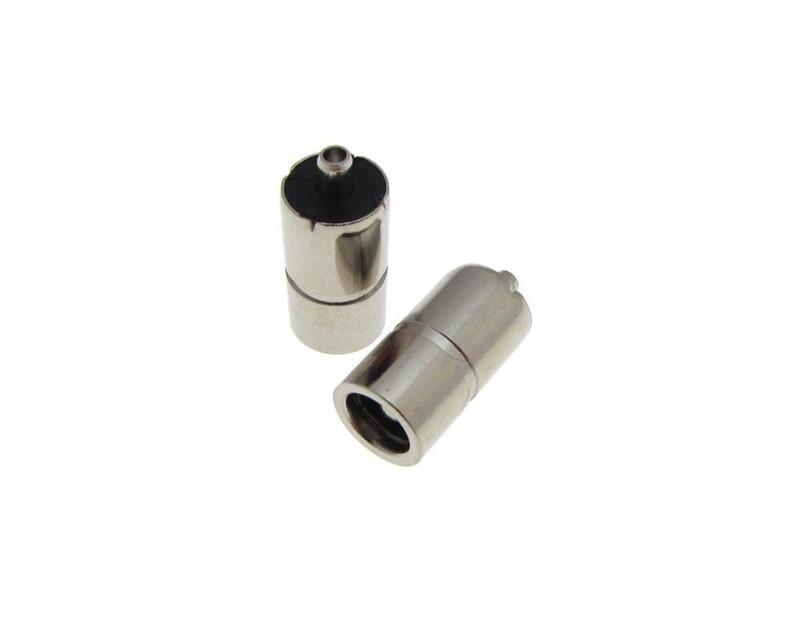Pack of 5 5.5mm x 2.1mm 5.5//2.1 DC Power Barrel Jack Metal