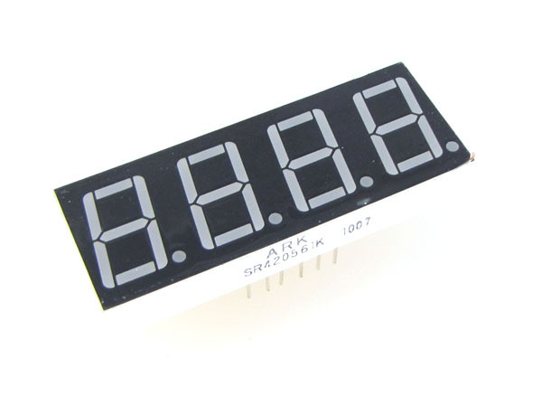 """Red 0.56/"""" 1 Digit 7-Segment LED Display SMD Surface Mount common anode"""