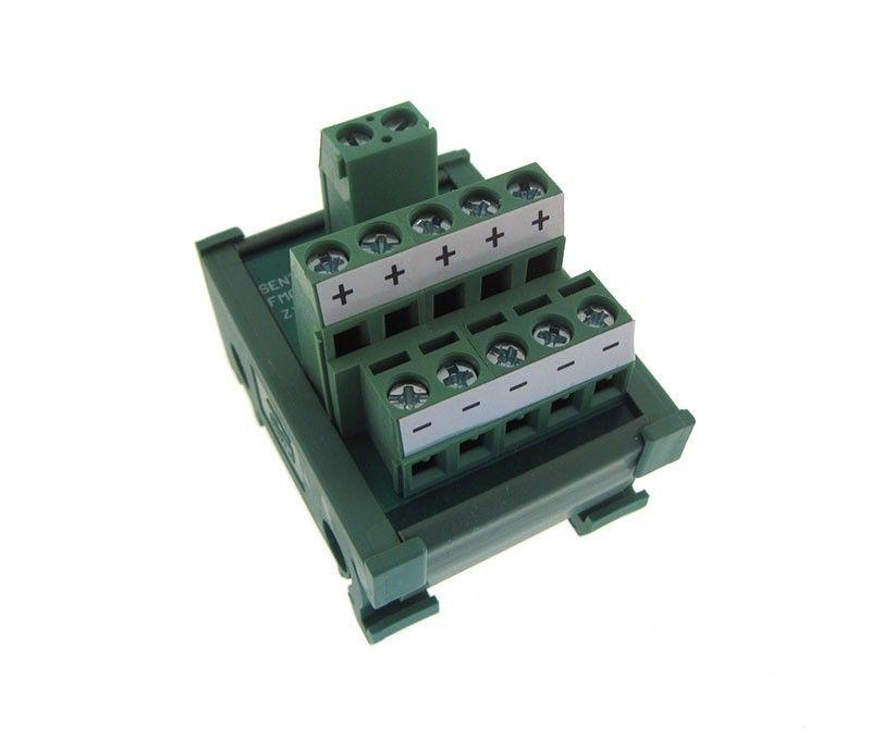 1-5 Channel Power Distribution Breakout Board Screw Terminal