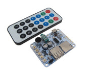 USB Flash Drive / Micro SD TF Card MP3 WAV WMA Player Board w/ Bluetooth Remote