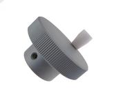 HQ 30mm Solid Aluminum Handwheel Hand for CNC Stepping motor - Shaft: 6mm