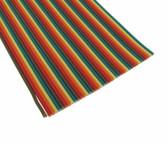 3Ft Multi-Color Flat Ribbon Zippable Cables 40 Conductors 5 Colors