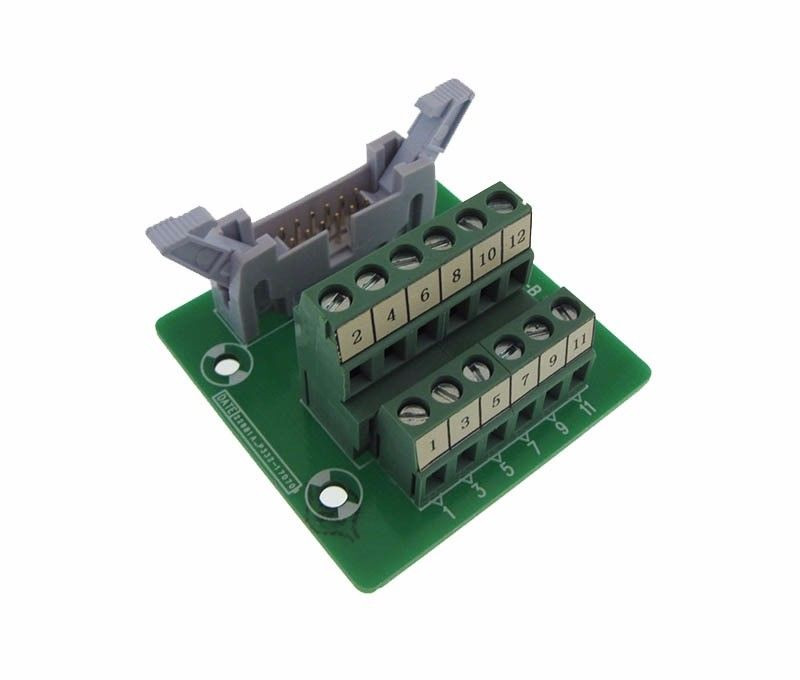IDC20 20-Pin Connector Signals Breakout Board Screw terminals GP