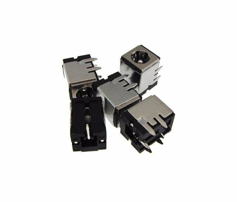 5.5mm x 2.1mm 5.5//2.1 DC Power Barrel Plug Jack w// Lock Cap Panel Mount