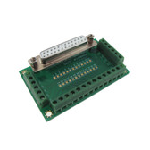 DB25 Female Signals Breakout Board 180