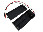 2*AAA Size Non-Rechargeable/Rechargeable Battery Holder Wire Leads w/Switch