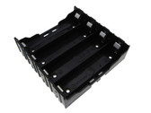 4x18650 Li-ion Rechargeable Battery Holder PC Pin