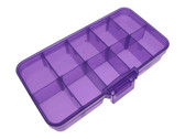 Components SMD Tool Parts Storage Box Case - Purple