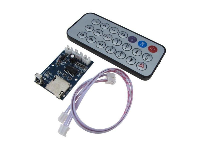 USB Flash Drive Micro SD TF Card  MP3 WAV WMA Player Board w// Bluetooth