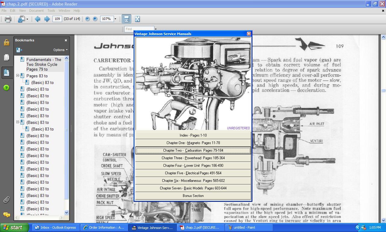 Johnson outboard service manual