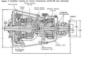 Velvet drive marine transmission factory service manual 72C