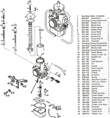 Bing carburetor service repair n overhaul manual for