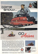 CD digital manual covers   Ariens Arrow Snowmobile  factory parts  manual 275 s 300 s  350s 400 L 400 SS seriel # 0001 and up  Fully bookmarked and searchable for easy navigation. You can print any or all 16 pages   Ariens Arrow Snowmobile factory parts manual