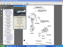 Cessna aircraft component service manual 300 400 series D5266--2-13 on a CD