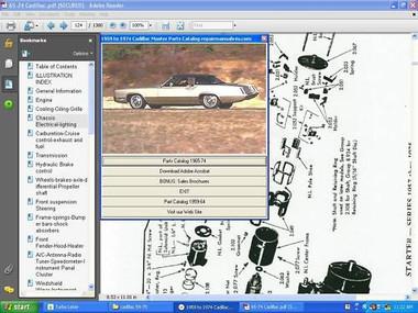 1988 Cadillac Deville factory service manual
