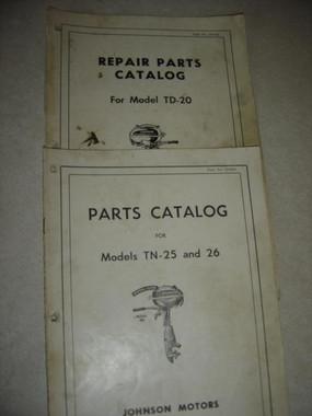 Johnson LT DT vintage outboard motor parts manual download