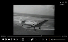 SNJ AT6 ww2 aircraft aerobatic instruction film on dvd WW2 Korean war