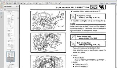 Kawasaki Arctic Cat & John Deere snowmobile service manual