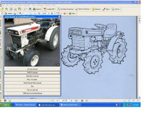 FMC Bolens Iseki repair service manual diesel G-152 154 172 TX1300 TX1500