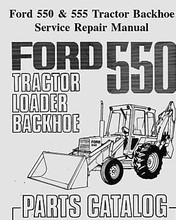 This auto run menu driven Mega CD covers: Ford tractor service & parts manual Covers: ford 550/555 backhoe loader 660+ pages Engine Systems Fuel Systems Electrical System Power Reversing Transmission Rear Axle and Breaks P.T.O. (Power Take Off) Steering and Front Axle Hydraulic System, Controls and Frame Cab Separating the Tractor Accessories PARTS MANUAL 1975 390 pages Shipped promptly 1 class usps Ford tractor service repair manual 550 555