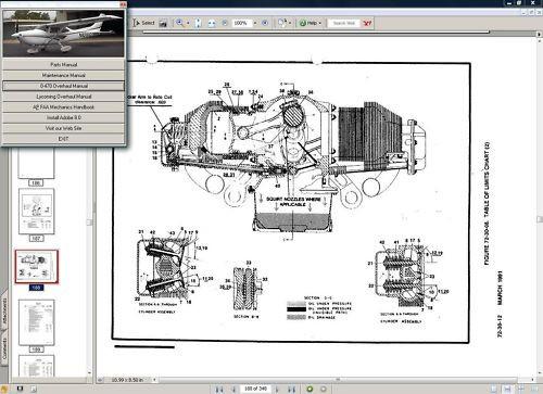 1969-1976 Cessna 182 /& Skylane Series Service Maintenance Manual