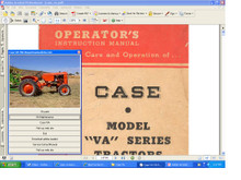 Case VA tractor service training manual