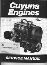 2SI Cuyuna Service repair parts manual UL430 ULII-02 ultralight aircraft engine