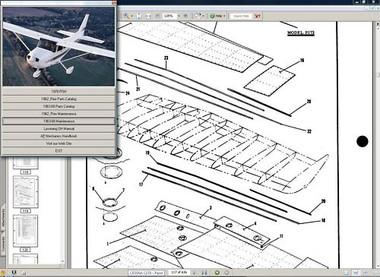 Cessna 172 & Skyhawk service maintenance manual set n engine 1956 to 1968 manuals W A/Ds