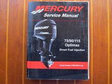 Mercury Mariner Outboard 115 135  150 175 Optimax Direct Fuel Injection Service