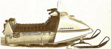 Johnson evinrude omc service snowmobile service manual 1973 27 30 32 HP