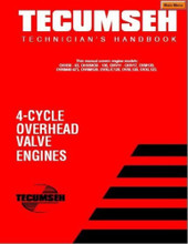 Tecumseh Engine service repair manual 8 to 18 HP cast iron 4 cycle